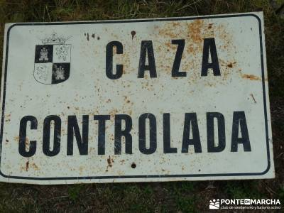 Puertos del Reventón y Calderuelas;garganta divina rio jarama mapa equipo senderismo